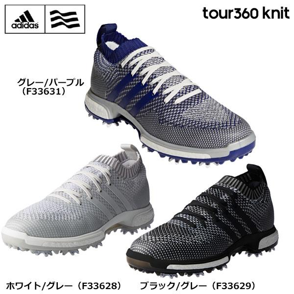 アディダス メンズ TOUR360 Knit ツアー360 ニット ソフトスパイク ゴルフシューズ [2018年モデル] 【あす楽対応】 [有賀園ゴルフ]
