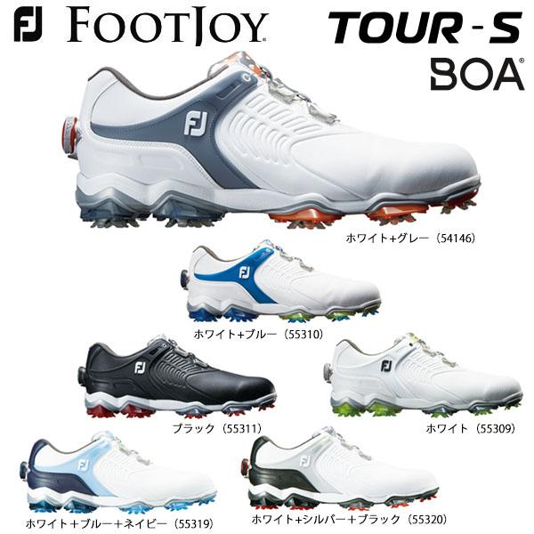 フットジョイ メンズ TOUR S Boa ツアーS ボア ソフトスパイク ゴルフシューズ [2018年モデル] 【あす楽対応】 [有賀園ゴルフ]