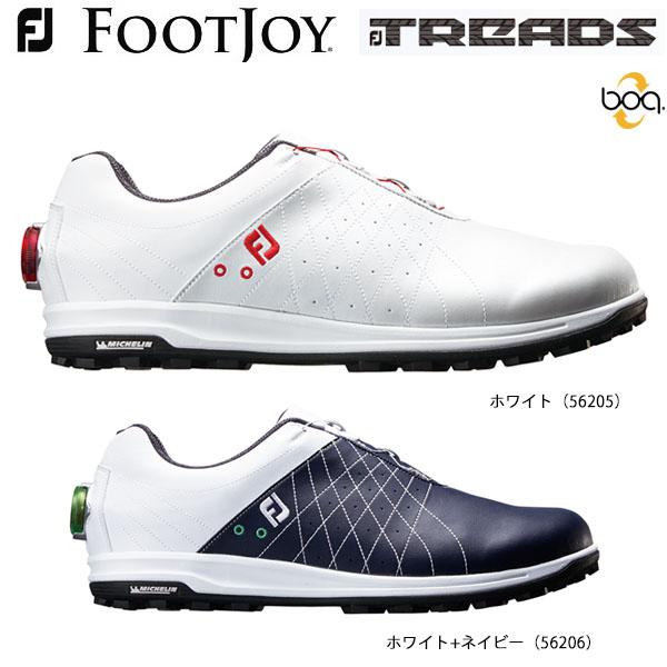 フットジョイ メンズ TREAD Boa トレッド ボア スパイクレス ゴルフシューズ [2018年モデル] 【あす楽対応】 [有賀園ゴルフ]