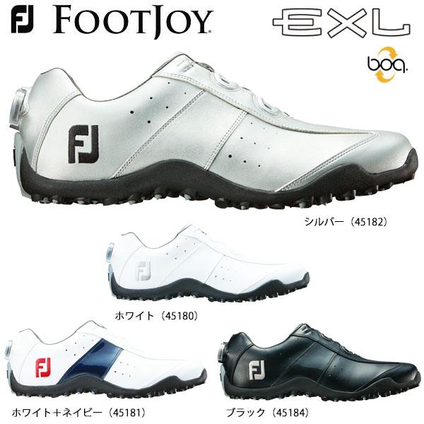 フットジョイ メンズ EXL Spikeless Boa EXLスパイクレス ボア スパイクレス ゴルフシューズ [2018年モデル] * [有賀園ゴルフ]