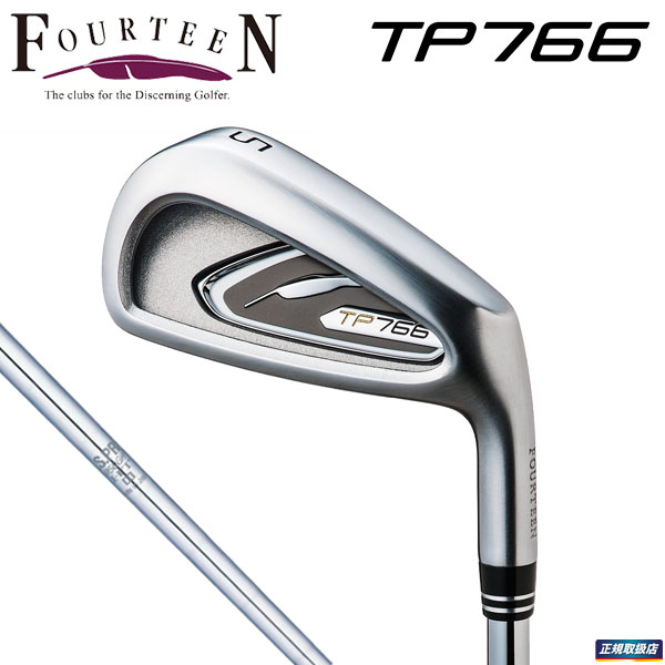 フォーティーン TP-766 アイアン 6本セット(#5~9、PW) N.S.PRO950GH HT スチールシャフト [2017年モデル] [有賀園ゴルフ]