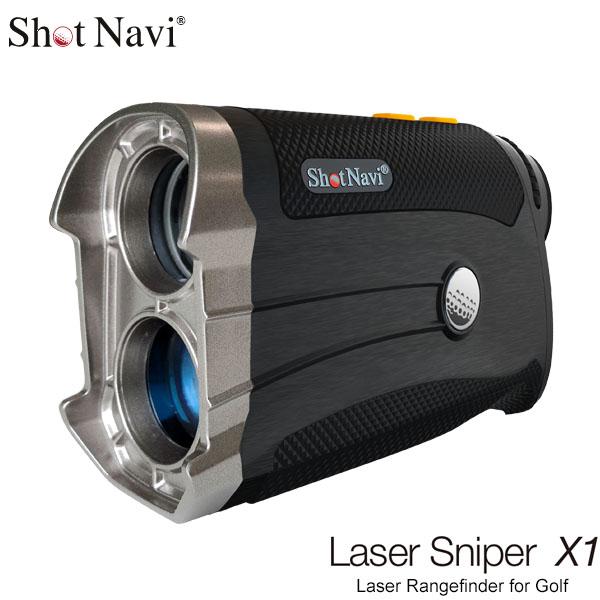 ショットナビ レーザー距離計 Laser Sniper X1 レーザースナイパー X1 * [有賀園ゴルフ]