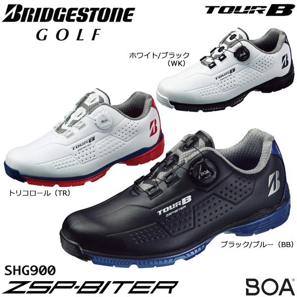 ブリヂストン TOUR B メンズ TOUR B ZSP-BITER ゼロ・スパイク バイター BOA スパイクレス ゴルフシューズ SHG900 [2019年モデル] 【あす楽対応】 [有賀園ゴルフ]