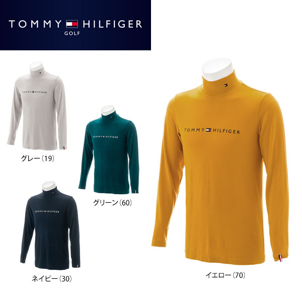 トミー ヒルフィガー ゴルフ メンズ 長袖 ハイネックシャツ THMA8A3 ゴルフウェア [2018年秋冬モデル] 【あす楽対応】 【ポイント10倍(11/27 9:59まで)】 [有賀園ゴルフ]