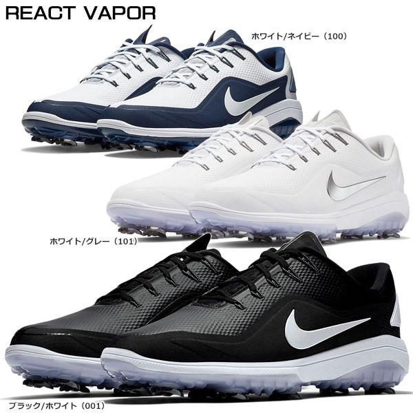 ナイキ メンズ REACT VAPOR2 リアクト ヴェイパー2 ソフトスパイク ゴルフシューズ BV1138 [2018年モデル] 特価 【あす楽対応】 [有賀園ゴルフ]☆☆