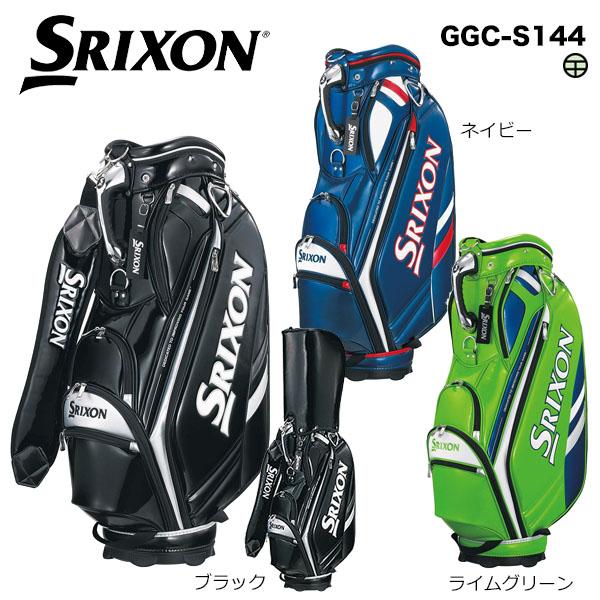ダンロップ メンズ SRIXON スリクソン エナメルスポーツモデル キャディバッグ GGC-S144 [2018年モデル] [有賀園ゴルフ]
