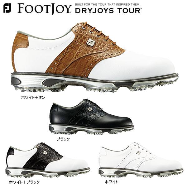 フットジョイ メンズ DRY JOYS TOUR ドライジョイズ ツアー ソフトスパイク ゴルフシューズ [2018年モデル] 【あす楽対応】 [有賀園ゴルフ]
