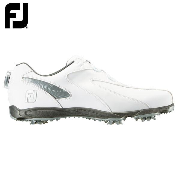フットジョイ メンズ EXL Spike Boa EXL スパイク ボア ゴルフシューズ ホワイト+シルバー (45186) [2019年モデル] 【あす楽対応】 [有賀園ゴルフ]