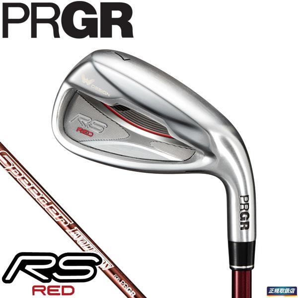 PRGR プロギア メンズ RS RED レッド アイアン 5本セット(#6~9、PW) RS RED専用 Speeder EVOLUTION for PRGR カーボンシャフト [2019年モデル] 【ポイント10倍(12/27 9:59まで)】 [有賀園ゴルフ]