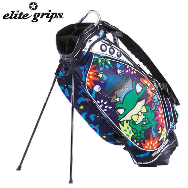 エリートグリップ ARTISTIC LINE スタンド キャディバッグ EGCB-1902 GN ゲロンネイビー JAPAN [2019年数量限定モデル] 【あす楽対応】 [有賀園ゴルフ]