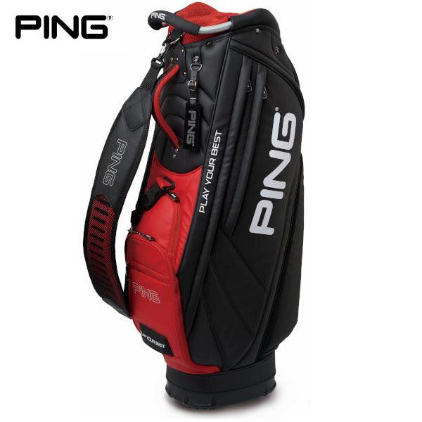 PING ピン メンズ 軽量モデル キャディバッグ CB-P191 34528-02 BLACK [有賀園ゴルフ]
