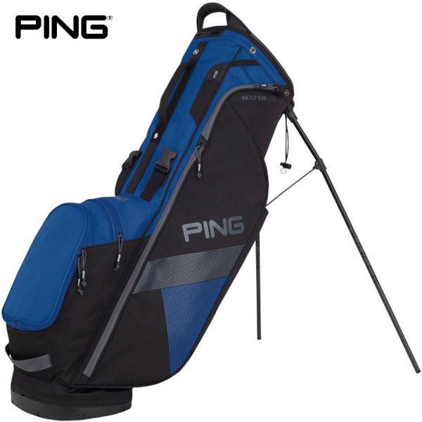 PING ピン メンズ HOOFER LITE フーファーライト 軽量スタンドモデル キャディバッグ 181 33880-104 BLUE/BLACK [2018年モデル] [有賀園ゴルフ]