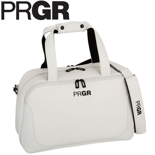 PRGR プロギア メンズ スポーツモデル ボストンバッグ PRBB-201 W ホワイト [2020年モデル] [有賀園ゴルフ]