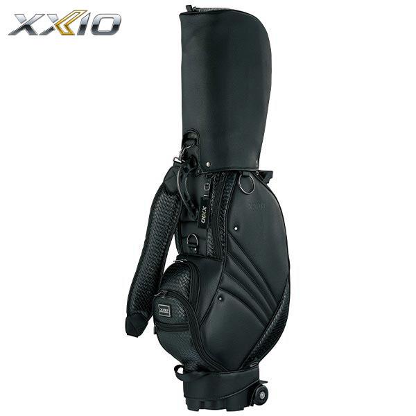 エントリーで全品P10倍 5500円以上で送料無料 1 9 20:00スタート ダンロップ XXIO ゼクシオ キャスター付き 2020年モデル ブラック セール商品 メンズ GGC-X112 キャディバッグ おすすめ特集 有賀園ゴルフ