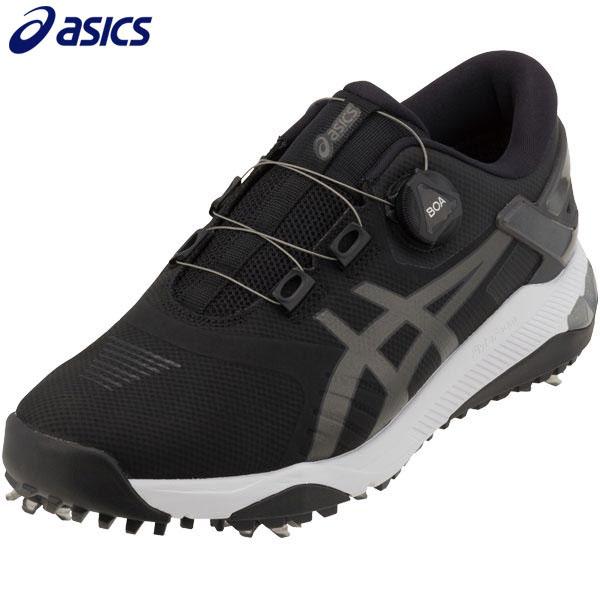ASICS アシックス メンズ GEL-COURSE DUO BOA ゲルコース デュオ ボア ソフトスパイク ゴルフシューズ 1111A073 001 ブラック/ガンメタル [2020年モデル] 【あす楽対応】 [有賀園ゴルフ]