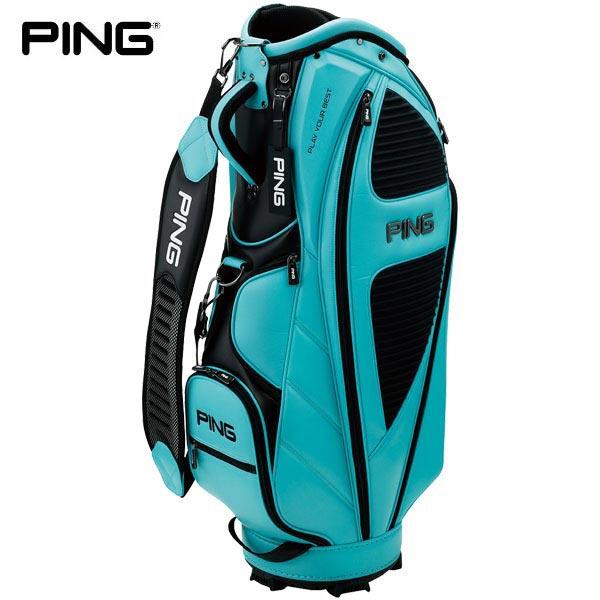 PING ピン メンズ スタイリッシュ キャディバッグ CB-P202 35077-04 Turquoise [2020年モデル] [有賀園ゴルフ]