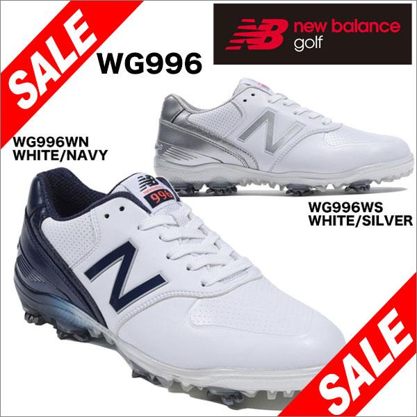 ニューバランス レディス ソフトスパイク ゴルフ シューズ WG996 [2018年モデル] 【あす楽対応】 [有賀園ゴルフ]