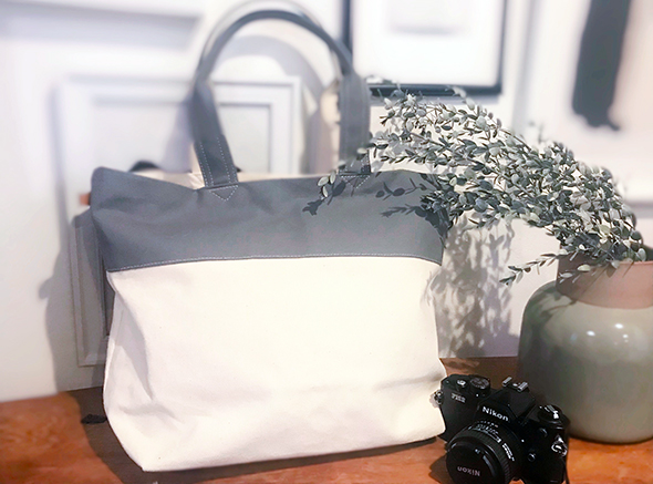 帆布トートバッグL トラベル 帆布製 CANVAS BAG トート バッグ  キャンバスバッグ トラベルバッグ