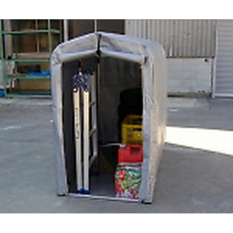 【取寄品】【アルミス】アルミス アルミサイクルハウス 2S[アルミス 建築資材オフィス住設用品物置・エクステリア用品自転車置場]【TN】【TD】 P01Jul16