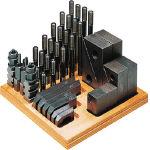 【スーパーツール】ステップクランプキット(M20、T溝巾22) 2220-CK【TN】【TC】【クランプ(工作機械用)/治工具/工作機工具/スーパーツール】