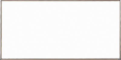 【TRUSCO】壁掛ボード白暗線ブロンズ900×1800 WGH-102SA【TN】【TC】【ホワイトボード/オフィスボード/オフィス用品/トラスコ中山】