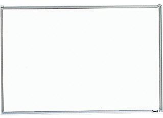 【TRUSCO】壁掛ボード粉受付900×1800 GH-102【TN】【TC】【ホワイトボード/オフィスボード/オフィス用品/トラスコ中山】