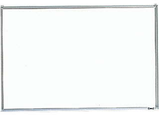 【TRUSCO】壁掛ボード粉受付暗線入り600×900 GH-122A【TN】【TC】【ホワイトボード/オフィスボード/オフィス用品/トラスコ中山】