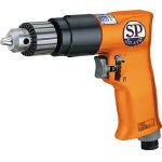 【SP】エアードリル10mm(正逆回転機構付) SPD-52【TN】【TC】【エアドリル・エアタッパ/エアドリル/空圧工具/エス.ピー.エアー】