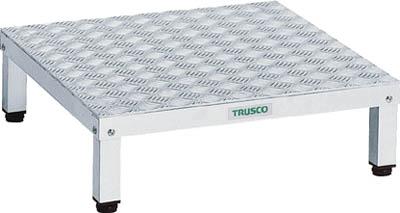 【TRUSCO】高床用アルミ製ステップ 900mmX450mm TFSH-0945AL【TN】【TC】【作業用踏台(アルミ製)/作業用踏台/はしご・脚立/トラスコ中山】