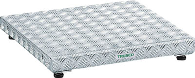 【TRUSCO】低床用アルミ製ステップ 600mmX450mm TFS-0645AL【TN】【TC】【作業用踏台(アルミ製)/作業用踏台/はしご・脚立/トラスコ中山】