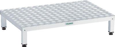 【TRUSCO】高床式アルミ製ステップ TFSH-0960AL【TN】【TC】【作業用踏台(アルミ製)/作業用踏台/はしご・脚立/トラスコ中山】