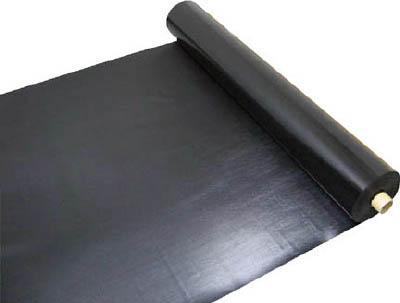 【ワニ印】ワニ印 塩ビ養生シート 黒 厚み0.5MM 1M×30M 003082[ワニ印 養生資材環境安全用品シート・ロープ養生シート]【TN】【TC】 P01Jul16