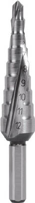 【RUKO】RUKO 2枚刃スパイラルステップドリル 20mm コバルトハイス 101051E[RUKO ドリル切削工具穴あけ工具ステップドリル]【TN】【TC】 P01Jul16