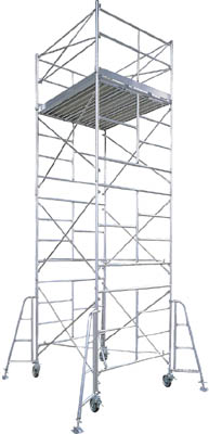 【取寄品】【ハセガワ】ハセガワ アルミ製ローリングタワー BMA型 3段 BMA3[ハセガワ ローリングタワー工事用品はしご・脚立高所作業台]【TN】【TC】 P01Jul16