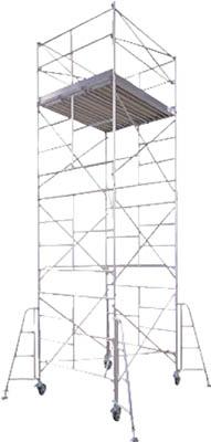 【取寄品】【ハセガワ】ハセガワ アルミ製ローリングタワー BMA型 1段 BMA1[ハセガワ ローリングタワー工事用品はしご・脚立高所作業台]【TN】【TC】 P01Jul16