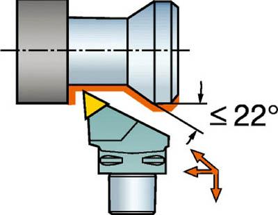 【サンドビック】サンドビック コロマントキャプト T-Max P用カッティングヘッド C5MTJNR3506016[サンドビック ホルダー切削工具旋削・フライス加工工具ホルダー]【TN】【TC】 P01Jul16