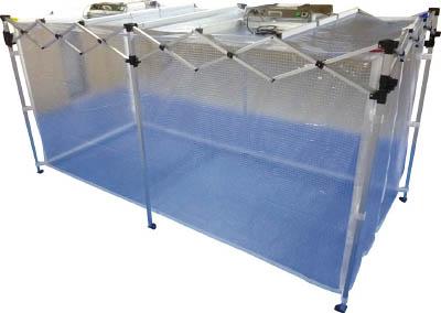 【取寄品】【KOK】KOK オールアルミ ワンタッチ 簡易クリーンブース 2段式 CB4[KOK テント研究管理用品理化学・クリーンルーム用品クリーンブース]【TN】【TC】 P01Jul16