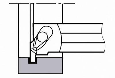 【タンガロイ】タンガロイ 内径用TACバイト CGXL0016[タンガロイ ホルダー切削工具旋削・フライス加工工具ホルダー]【TN】【TC】 P01Jul16