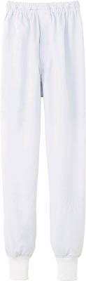 【サンペックス】サンペックス クールフリーデ男女兼用ホッピングパンツ ホワイト LL CD633LL[サンペックス ウェア環境安全用品保護具食品工場向けウェア]【TN】【TC】 P01Jul16
