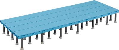 【TRUSCO】TRUSCO 樹脂ステップ高さ調節式600X1800 H200-220 DS6018H[TRUSCO マット          工事用品はしご・脚立低床型作業台]【TN】【TC】 P01Jul16