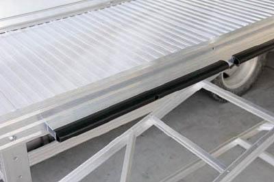 【取寄品】【ピカ】ピカ 連結式大型作業台 手すりL型 DXLTE200AL[ピカ 高所作業台工事用品はしご・脚立単管・足場用品]【TN】【TC】 P01Jul16