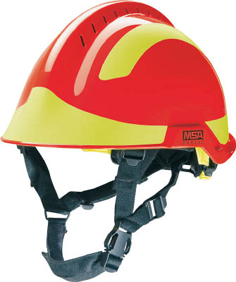 "【MSA】MSA ""F2 X-TREM レスキューヘルメット"" (赤) GA3110000000REJ00MSA 保護具環境安全用品保護具ヘルメット【TN】【TC】"
