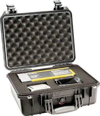 【PELICAN】PELICAN 1450 (フォームなし)黒 406×330×174 1450NFBK[PELICAN ケース作業用品工具箱・ツールバッグプロテクターツールケース]【TN】【TC】 P01Jul16