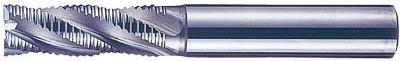 日立ツール ラフィングエンドミル レギュラー刃 HQR35 HQR35日立ツール ハイスエンドミル切削工具旋削・フライス加工工具超硬ラフィングエンドミル【TN】【TC】