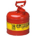 【ジャストライト】ジャストライト セーフティ缶 タイプ1 2ガロン J7120100ジャストライト 保管庫物流保管用品ボトル・容器ドラム缶【TN】【TC】