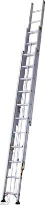 【取寄品】ハセガワ アップスライダー業務用3連梯子 LA3110ハセガワ 梯子工事用品はしご・脚立はしご【TN】【TC】