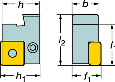 【サンドビック】サンドビック 旋削用カセットホルダ L175.32322319サンドビック ホルダー切削工具旋削・フライス加工工具ホルダー【TN】【TC】