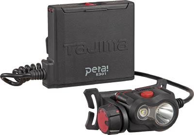 タジマ ペタLEDヘッドライトE301ブラック LEE301BKタジマ 工具類工事用品作業灯・照明用品ヘッドライト【TN】【TC】