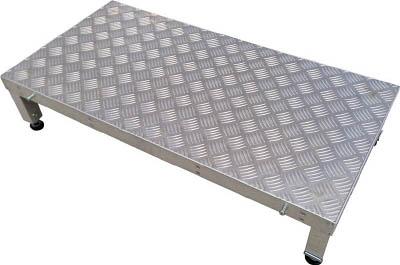 【取寄品】【アルインコ】アルインコ 連結式アルミ作業用踏台1段(天板縞板タイプ)LFS LFS0904Hアルインコ 脚立工事用品はしご・脚立簡易踏台【TN】【TD】