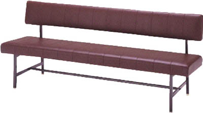 【取寄品】【ミズノ】ミズノ ロビーチェア 背付き ブラウン MC1215ミズノ 長椅子オフィス住設用品オフィス家具ロビーチェア【TN】【TD】
